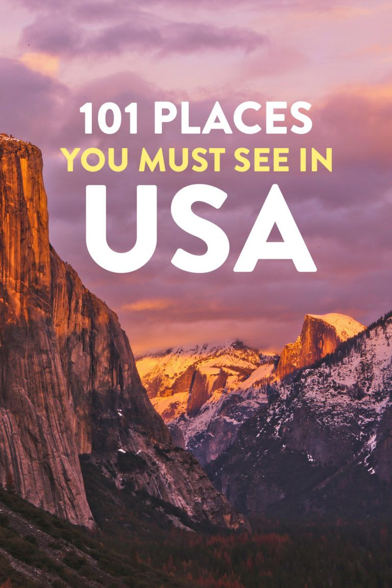 101 Places to Visit in USA - Your Ultimate USA Bucket List #fallbucketlist