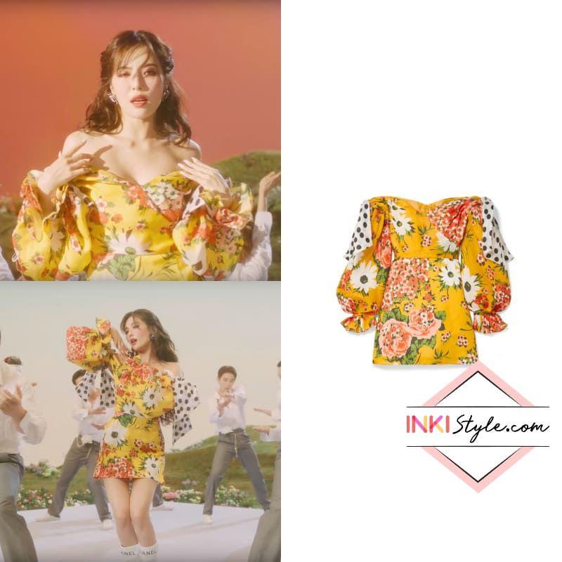 K Pop Fashion Hyuna S Flower Shower Mv Inkistyle Thời Trang Thời Trang Nữ Trang Phục