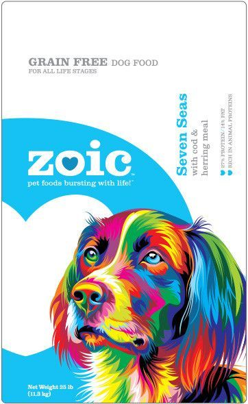 Zoic Seven Seas with Cod & Herring Meal Grain-Free Dry Dog Food