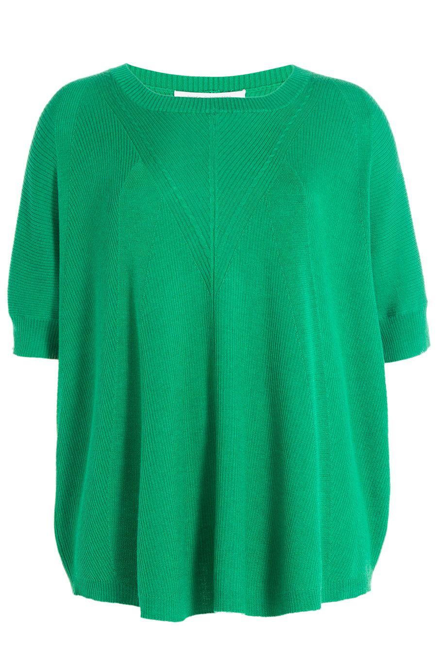 DIANE VON FURSTENBERG Merino Wool Pullover With Silk. #dianevonfurstenberg #cloth #scoop neck