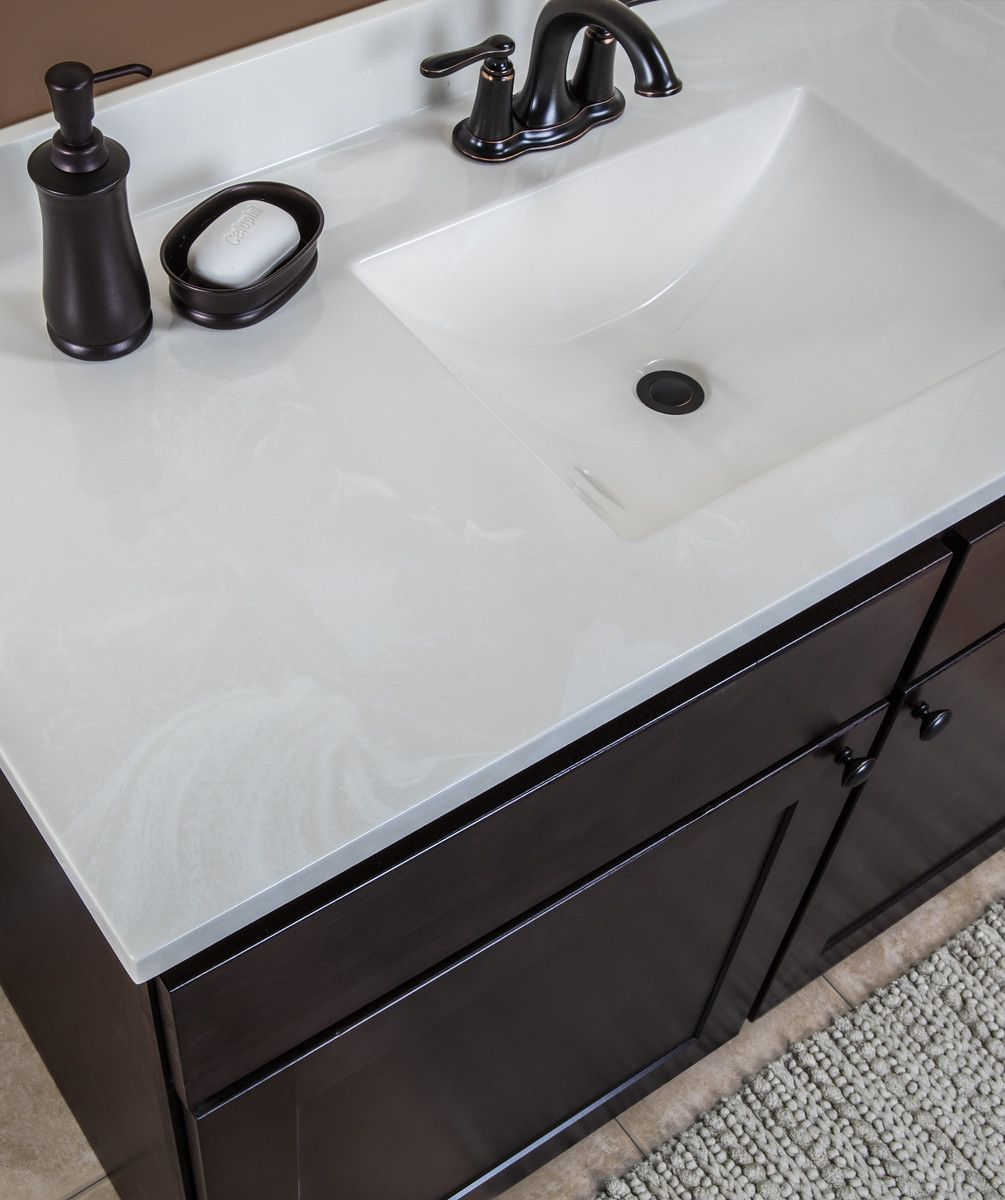 Carrara Marble Vanity Tops With Grey Cabinets Bathroom Marble