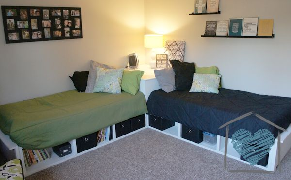 How To Add Storage Drawers Under Your Bed Creative Bedroom Small Guest Bedroom Bed In Corner