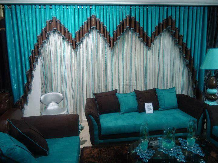 modèle déco rideaux salon marocain . | store pour jardin | Pinterest ...