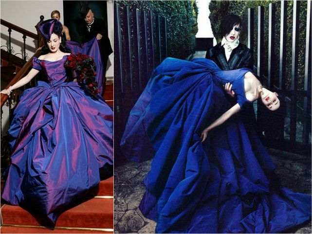10 Wedding Dresses Of Famous Brides All The Top10 Dita Von Teese Wedding Dita Von Teese Dita Von Teese Burlesque