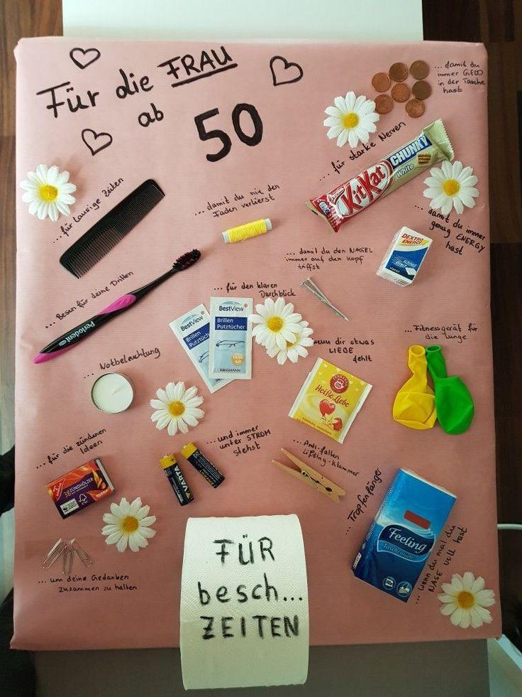 Bildergebnis für Geschenkideen für die 50. Geburtstagsfrauen #igers