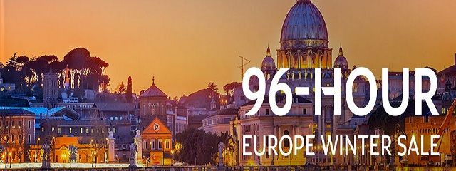 96-hour Winter Sale To Europe at Etihad