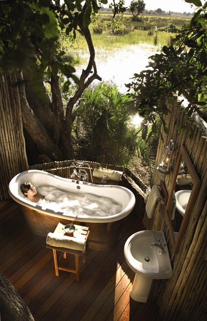 Belmond Eagle Island Lodge Botswana Safari Salles De Bains