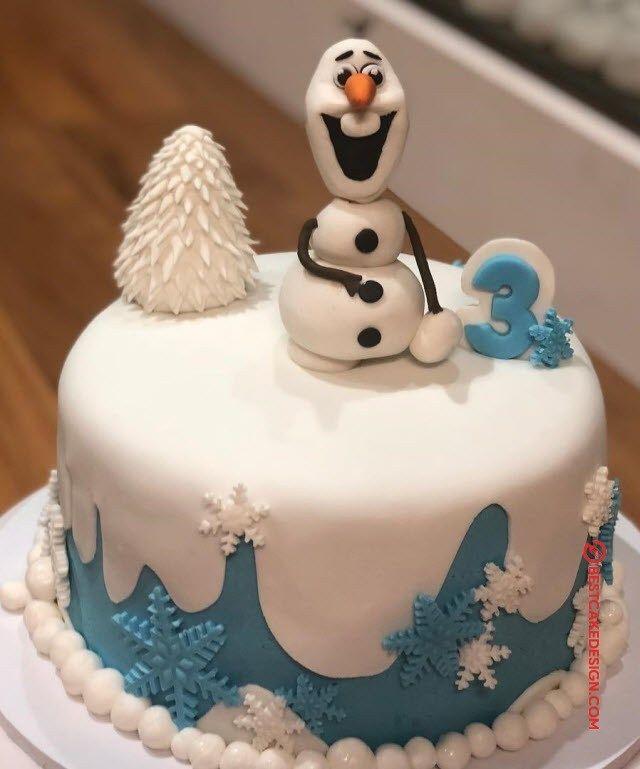 50 Olaf Cake Design (Cake Idea) - March 2020 | Cool cake ...