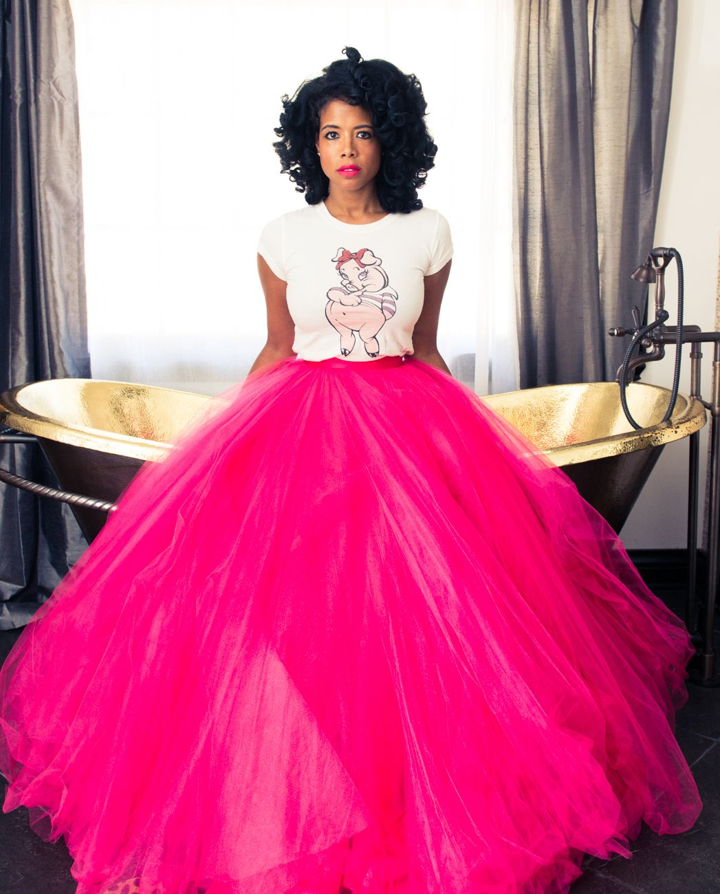 Kelis | Pink tulle, Tulle skirts and Tutu