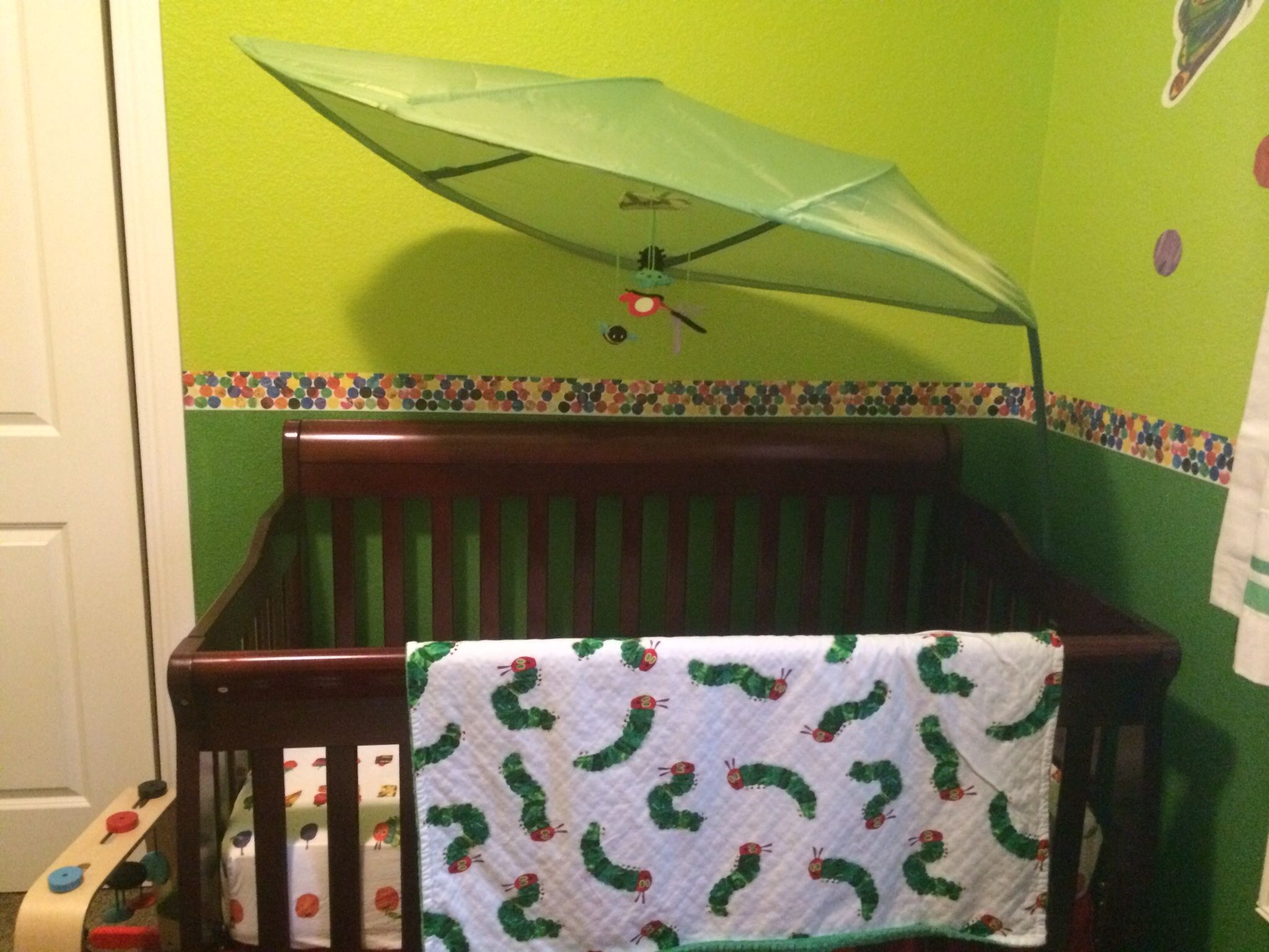 Leaf, ikea Blanket, etsy Sheet, pottery barn kids Crib