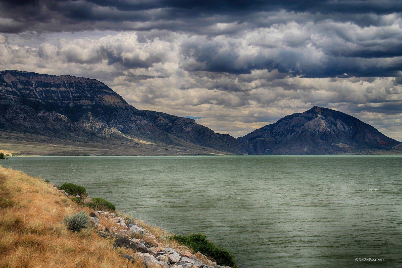 Rattlesnake Mountain and Buffalo Bill Reservoir, Wyoming