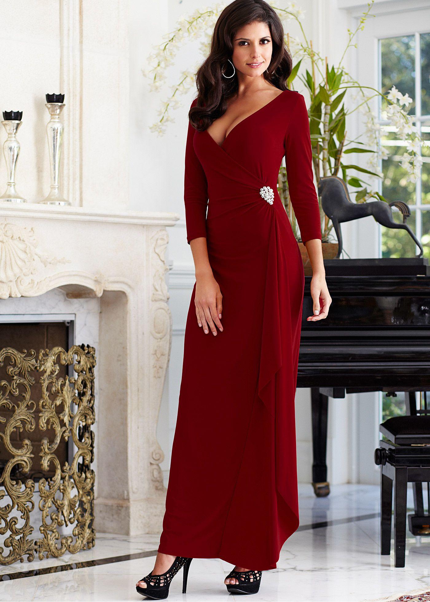 Vestido envelope longo vestidos pinterest envelopes fashion