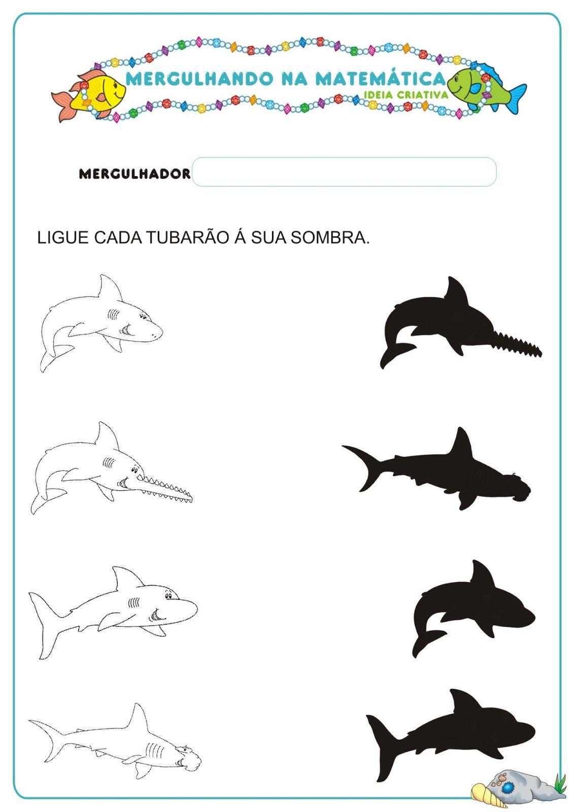 Caderno De Atividades Matematica Projeto No Fundo Do Mar