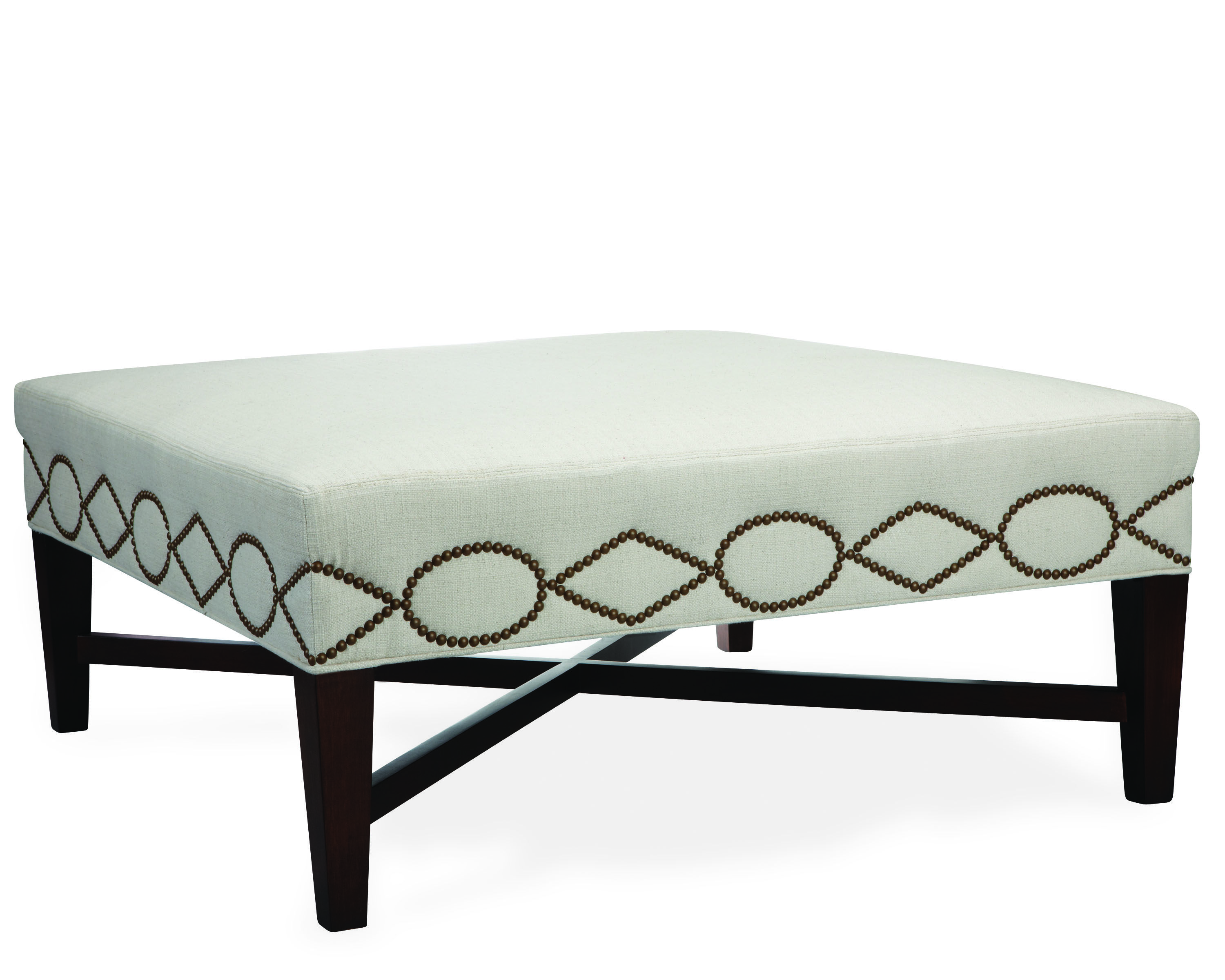 Terrific Lee Cocktail Ottoman In Chambers Linen Lee Ottomans Ibusinesslaw Wood Chair Design Ideas Ibusinesslaworg