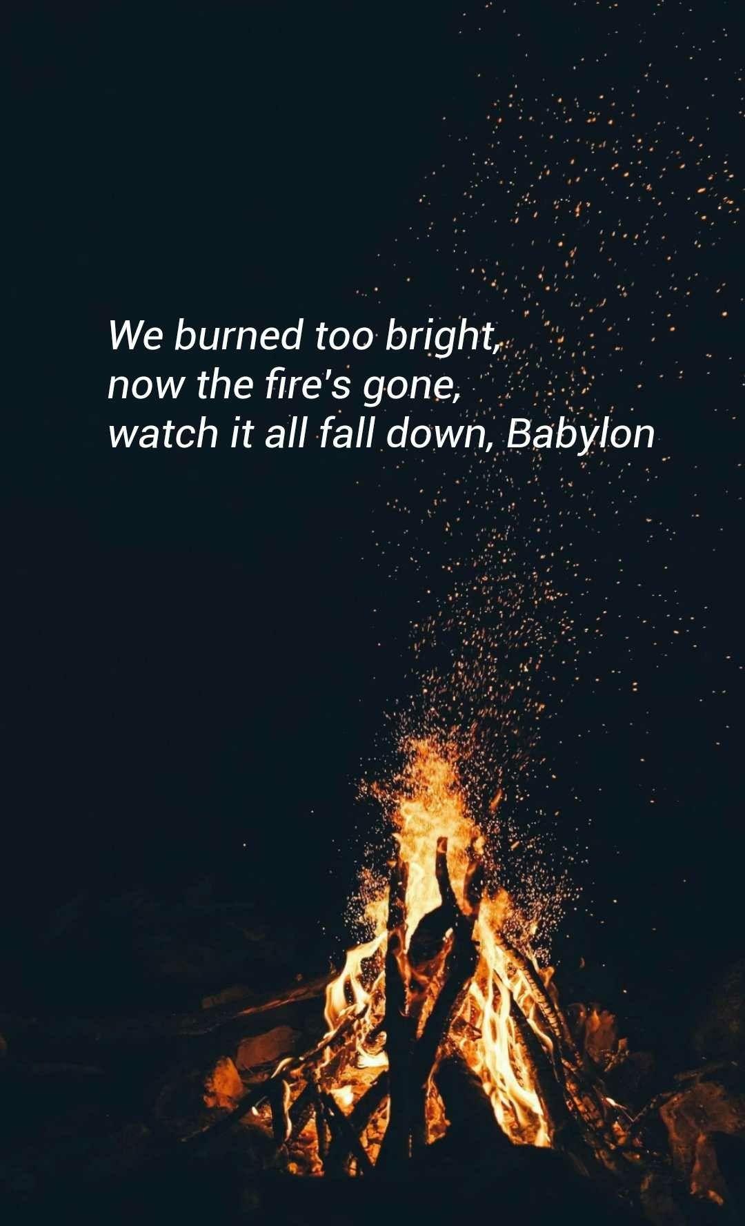 5 Seconds Of Summer Babylon Lyrics Lockscreen Tumblr My Youngblood 5sos