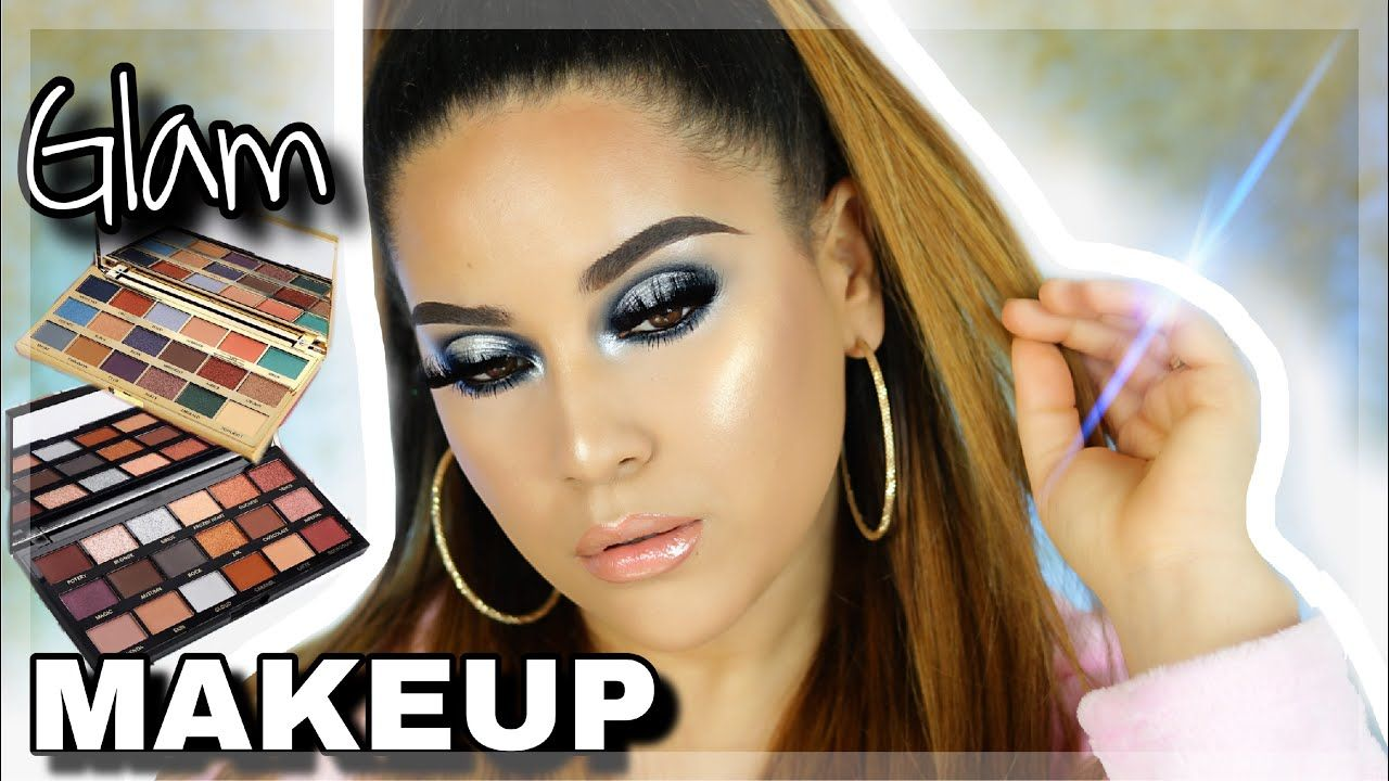 FULL COVERAGE HOLIDAY GLAM MAKEUP TUTORIAL Glam makeup