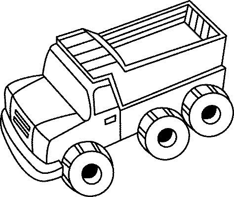 Huge Trucks | Trucks Coloring Pages | Pinterest | Kids net