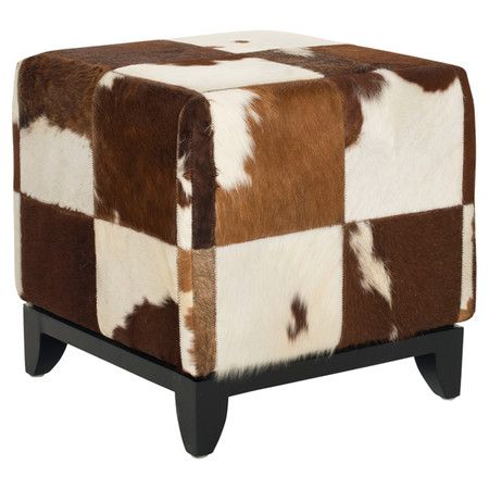 Add A Touch Of The Open Range To Your Home With This Cowhide