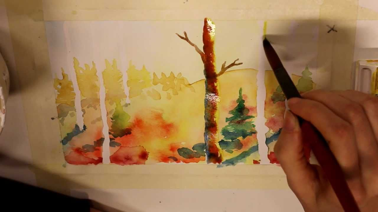 Water Color Tutorial Beginners Watercolour Tutorials