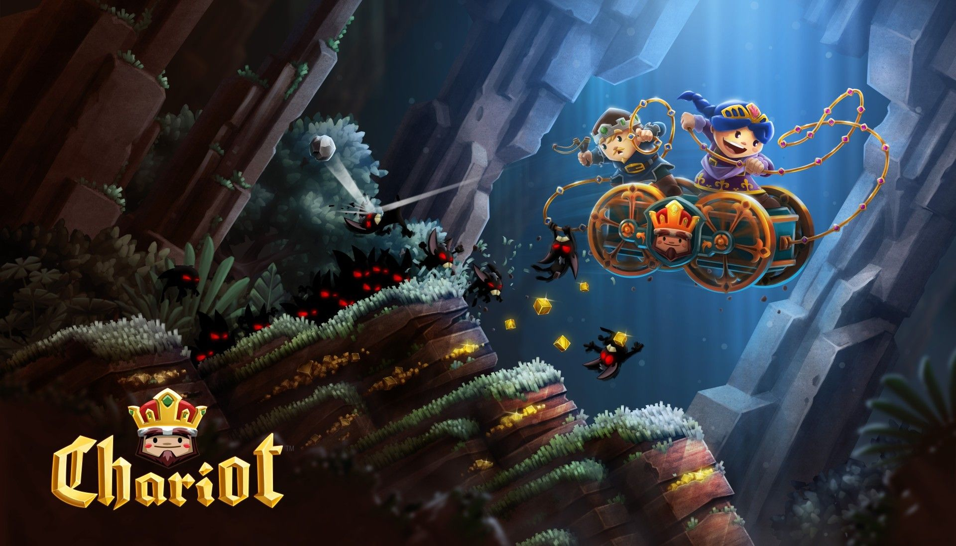 Chariot launch trailer Free xbox one, Xbox one, Indie games