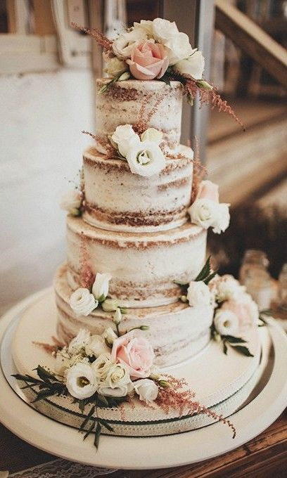33 Dreamy Rustic Wedding Cake Ideas Everyone Loves #cakedesigns