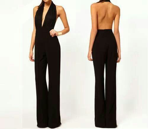 one piece pant suits - | Fashion - Misc | Pinterest | Prom ideas ...