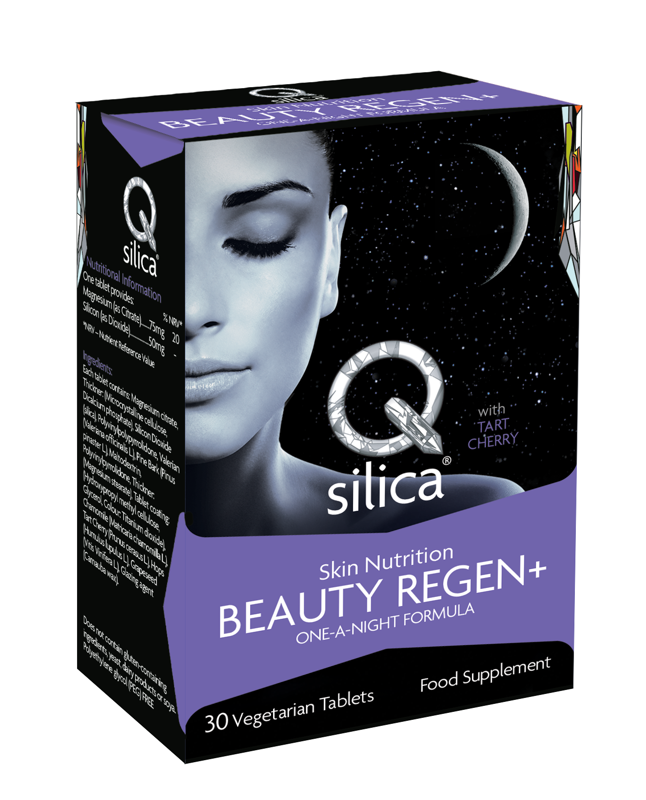 Qsilica BEAUTY REGEN+ Tablets are formulated to provide a