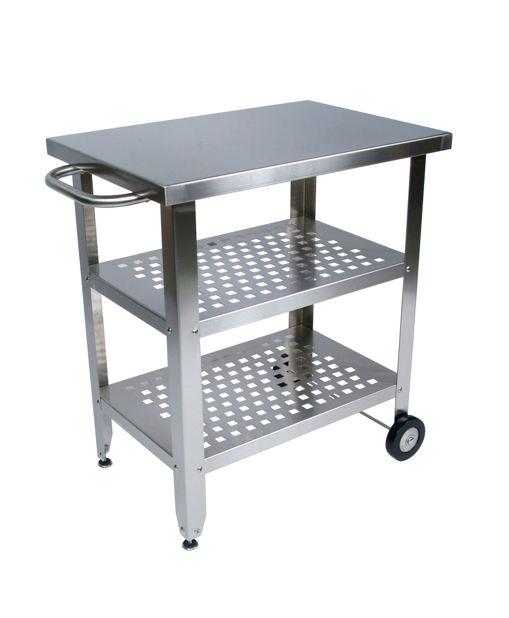 Kuhnhenn Kitchen Cart With Wood Top Stainless Steel Kitchen Cart Kitchen Island Cart Kitchen Cart