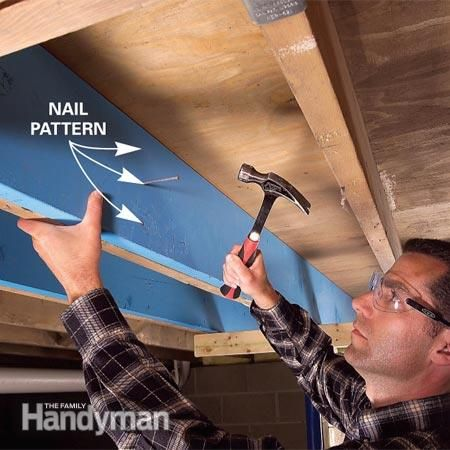 Raise A Sagging Or Sloping Floor With A Hydraulic Jack Home Fix Old Houses Diy Home Repair