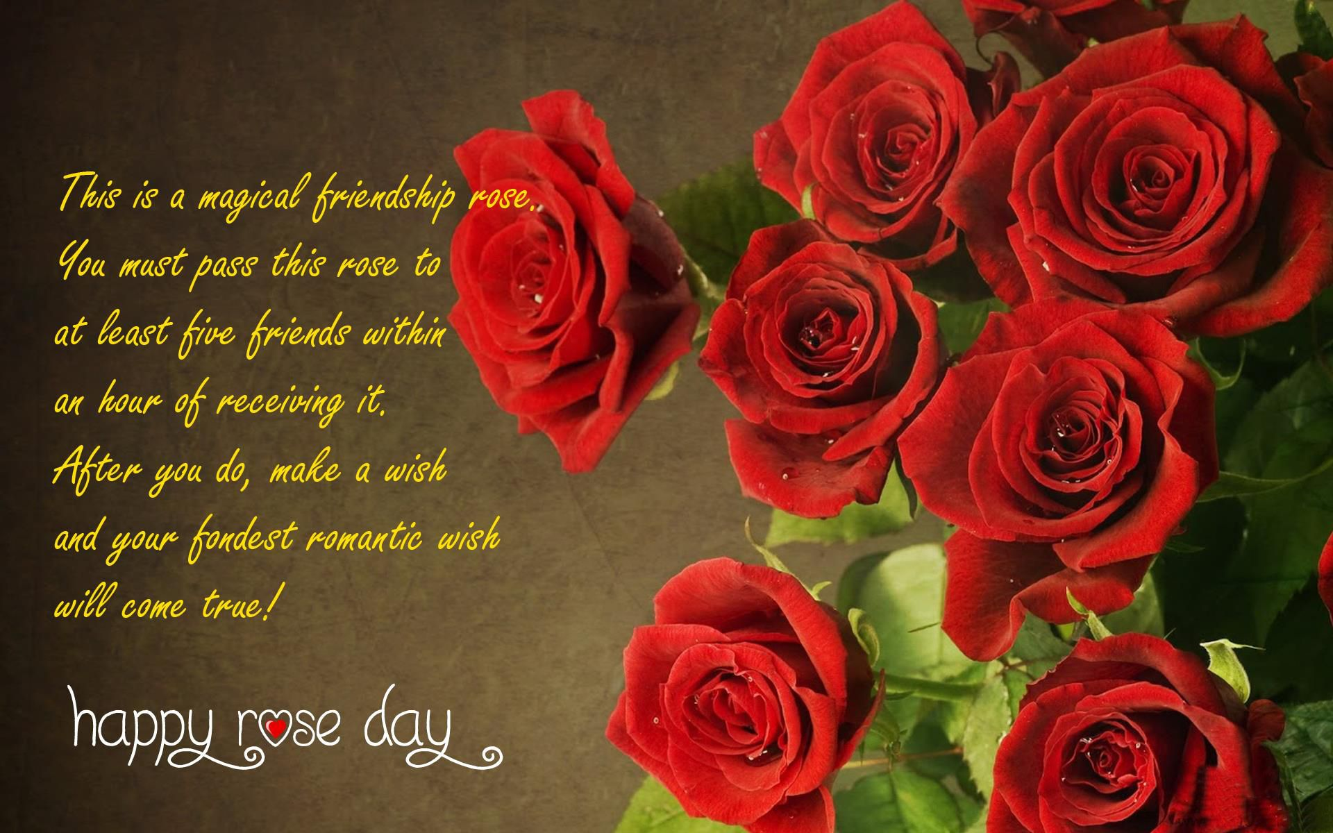 Rose Day Quotes For Friendship Rose Day Happy Happy Rose Day