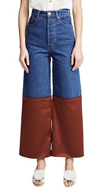 Amira Wide Leg Jeans Solace London D03ylbFqJ