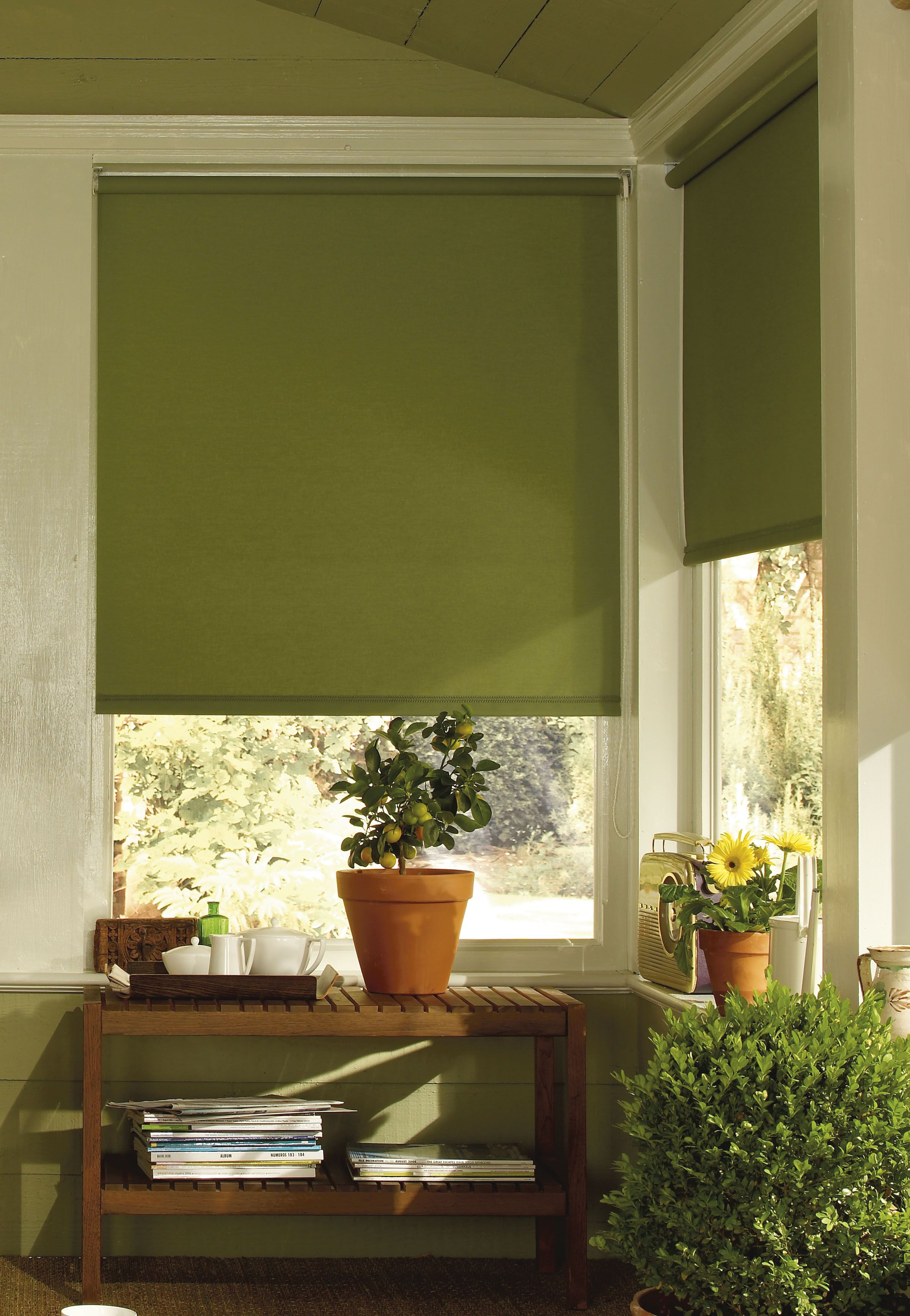 This deep olive green colour will introduce the ambience of an