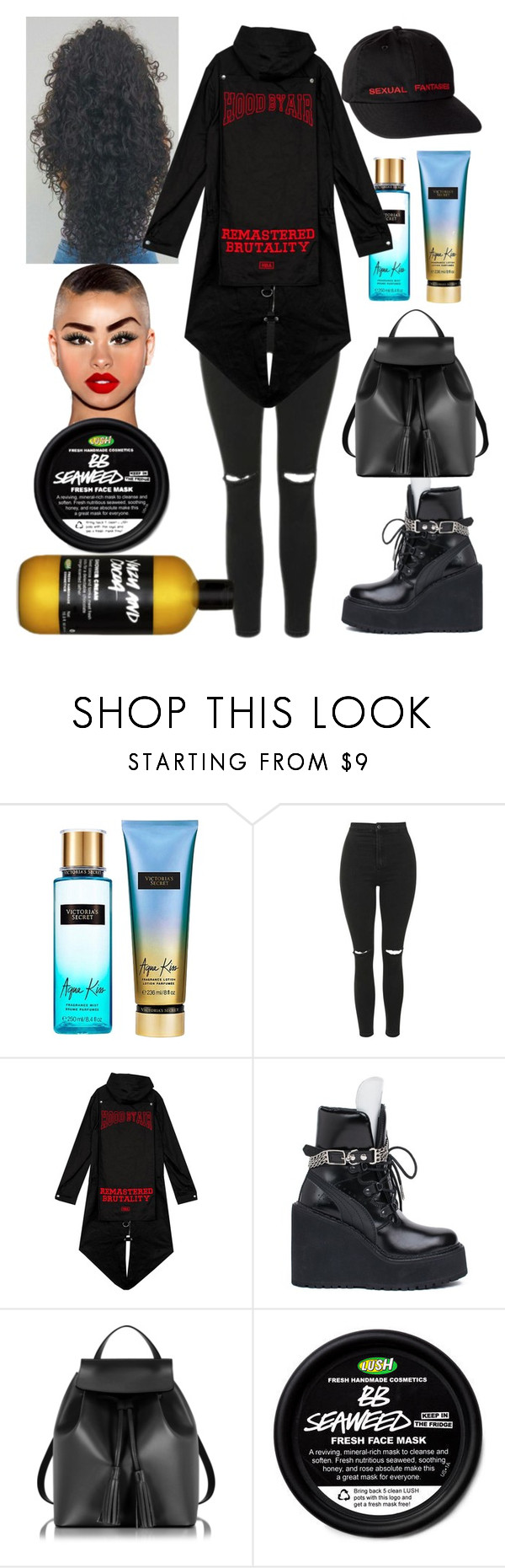 """Chicago: June 28"" by allison-syko ❤ liked on Polyvore featuring Victoria's Secret, Topshop, Puma and Le Parmentier"