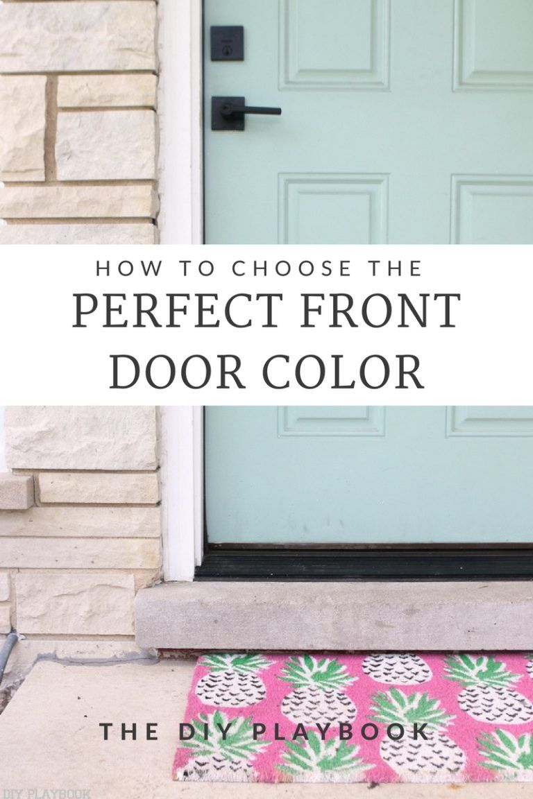 How to Choose the Perfect Front Door Color   The DIY Playbook