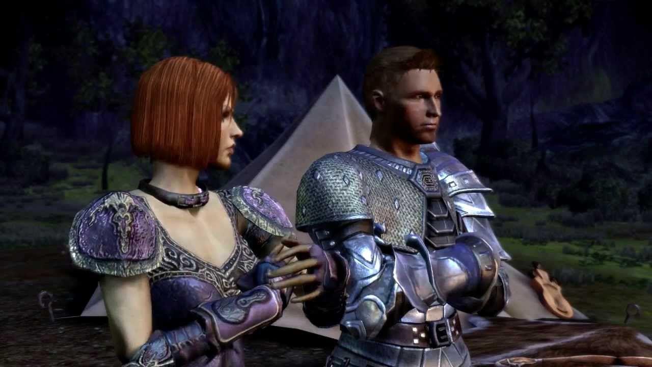 Dragon Age Banter Cutscene 1 Alistair S Distrust Of Zevran Dragon Age Dragon Age Origins Age