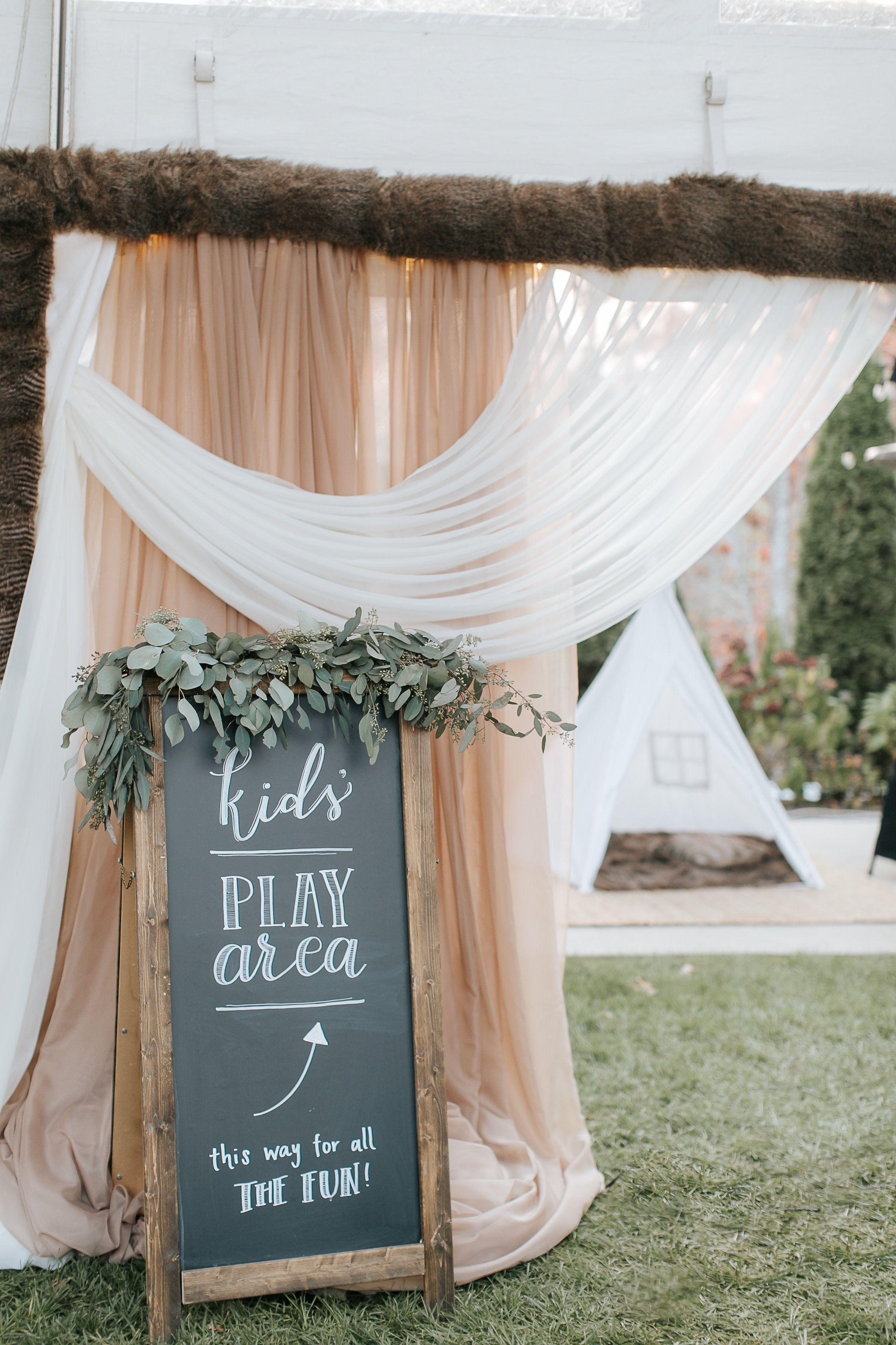 Image result for kids area wedding sign baptism pinterest