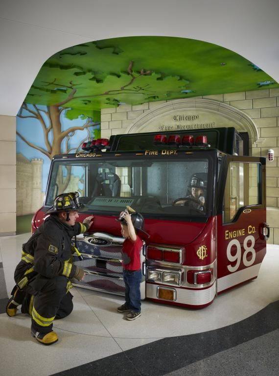 Lurie Children S Chicago Fire Department Exhibit Childrens Museum Childrens Museum Exhibits Firefighter Pictures