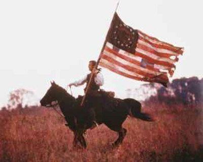 The Patriot.  Love this movie!