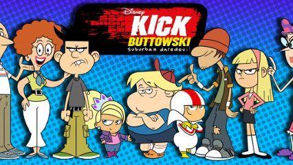 Kick Buttowski: Suburban Daredevil (no Brasil, Kick Buttowski: Um Projeto de Dublê, e Kick But...