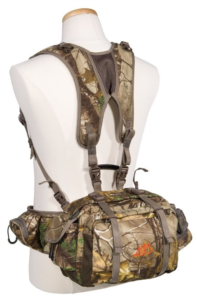 Camo hunting fanny pack backpack back pack fishing for Fishing waist pack