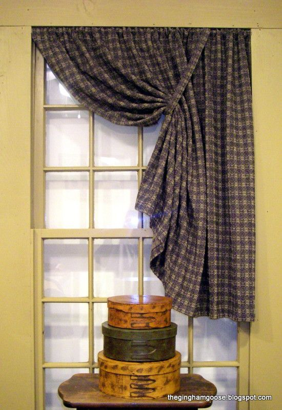 Pin by Mary Havel on Curtains | Primitive curtains, Country ...