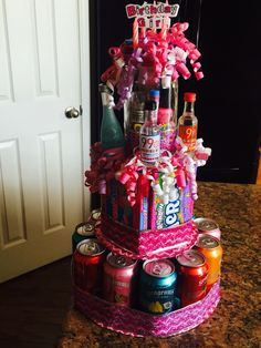 Beer cake I made for my girl Nichelle Happy Birthday gift ideas