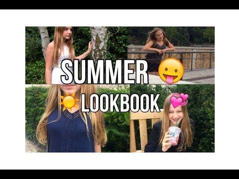 SUMMER lookbook - YouTube