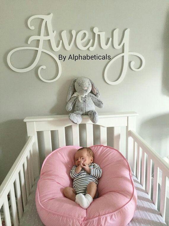 Pin By Ashley Cornett On Jolie S Nursery Baby Name Letters