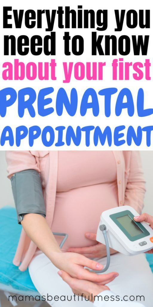 first prenatal appointment   First prenatal appointment ...