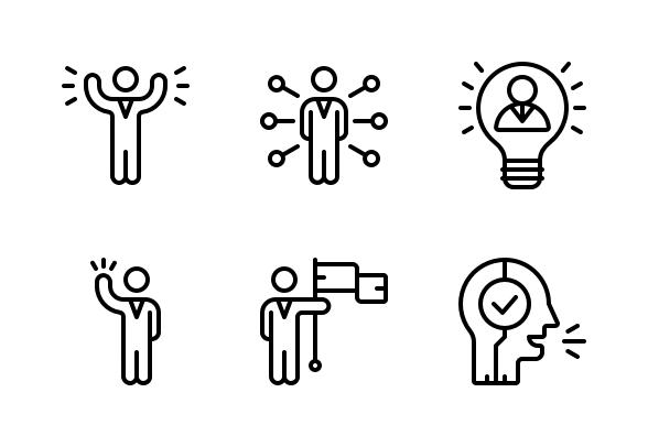 Leadership Icons By Berkah Icon Leadership Coaching Leadership Activities Leadership