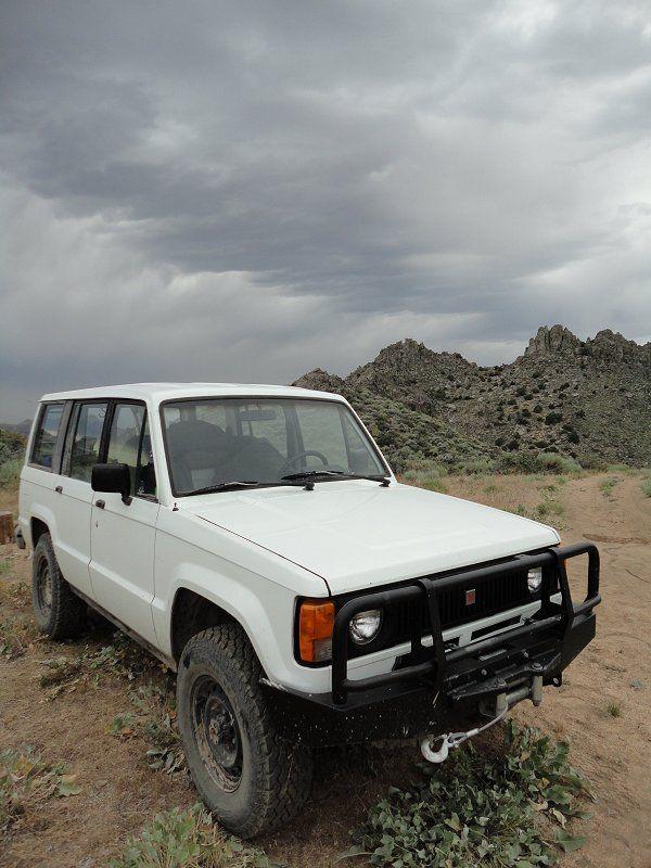 1991 Isuzu Trooper Overlanding Build Expedition Portal Overland Vehicles Trooper Overlanding