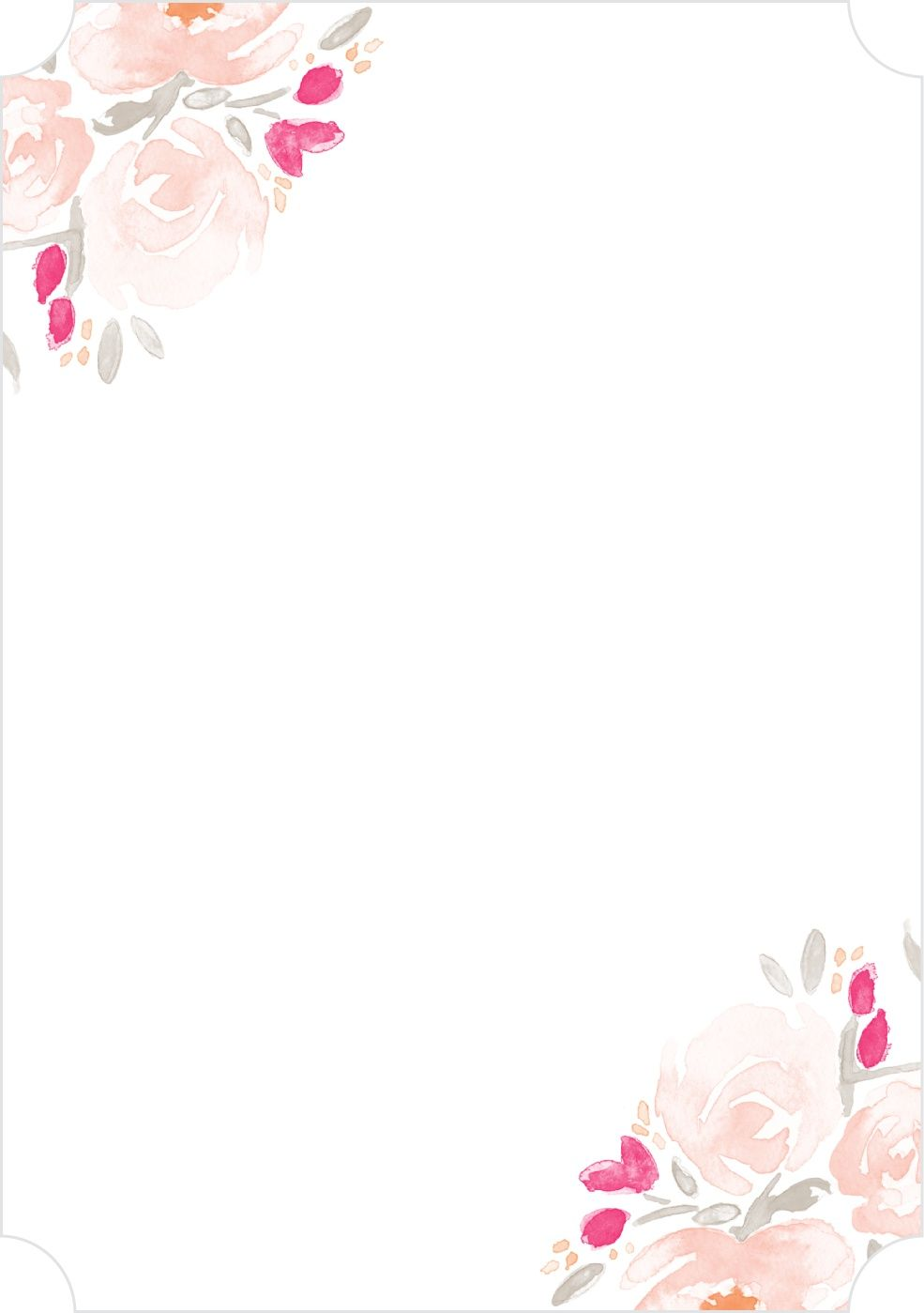 Pin De Faisaleh Em Quincenera Molduras Para Convites De Casamento Ilustracoes Florais Convite De Casamento