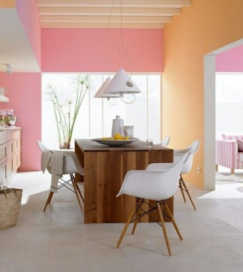 Schlafzimmer Lila Streichen Schoener Wohnen Trendfarbe: Farbgestaltung Für Optische Raumvergrößerung