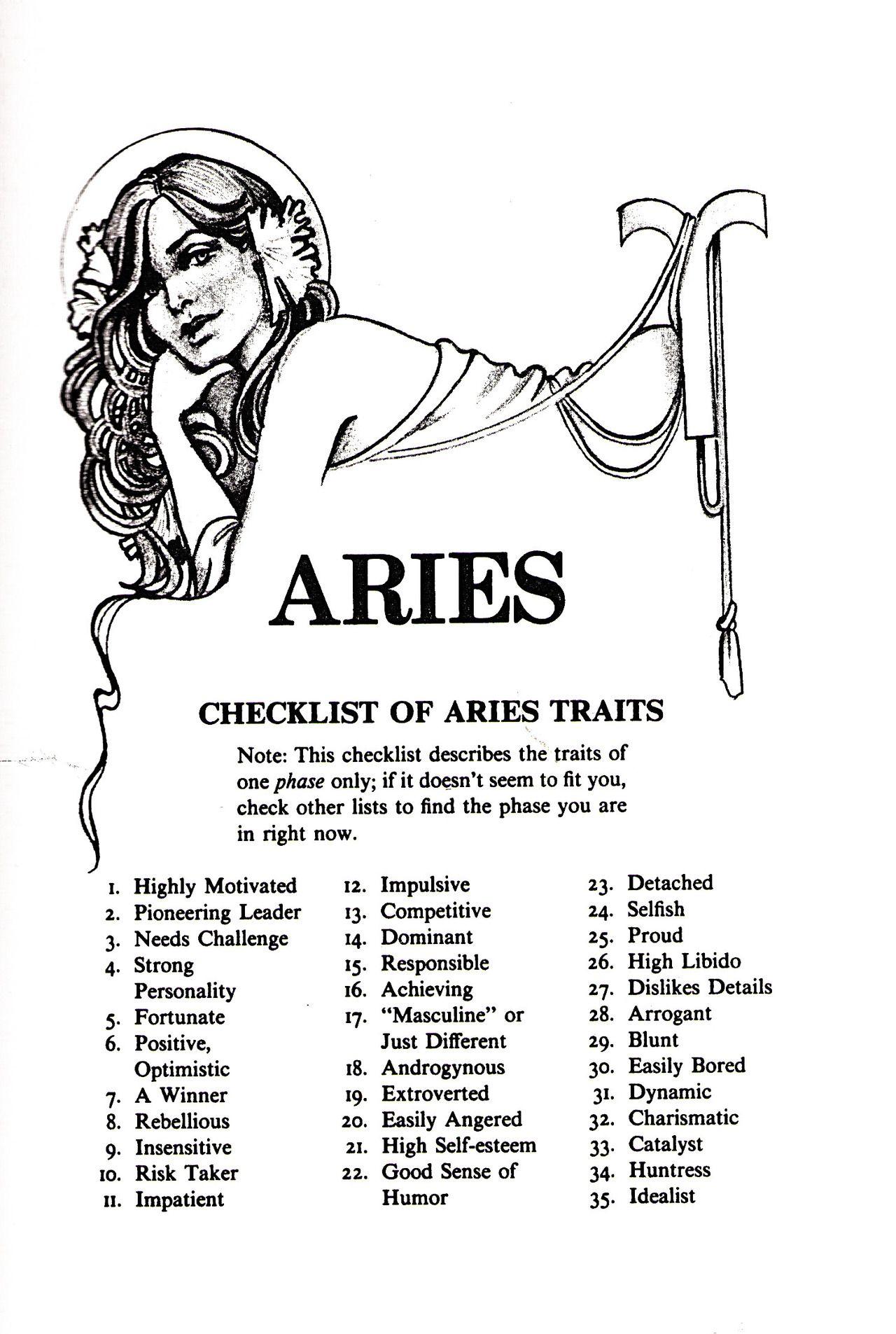 aries zodiac sex facts in Ballarat